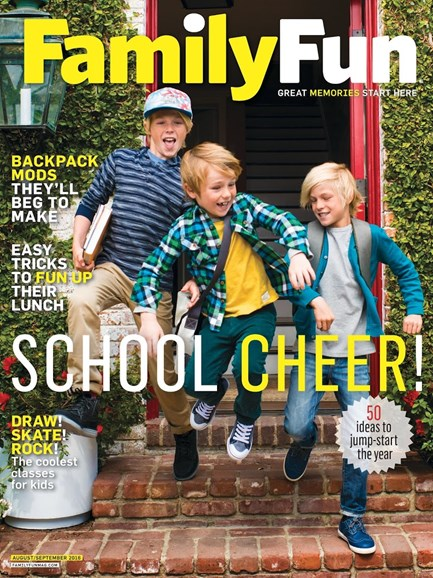 Family Fun Cover - 8/1/2016