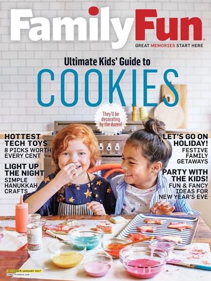 Family Fun Cover - 12/1/2016