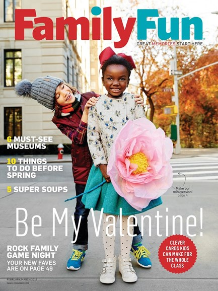 Family Fun Cover - 2/1/2016