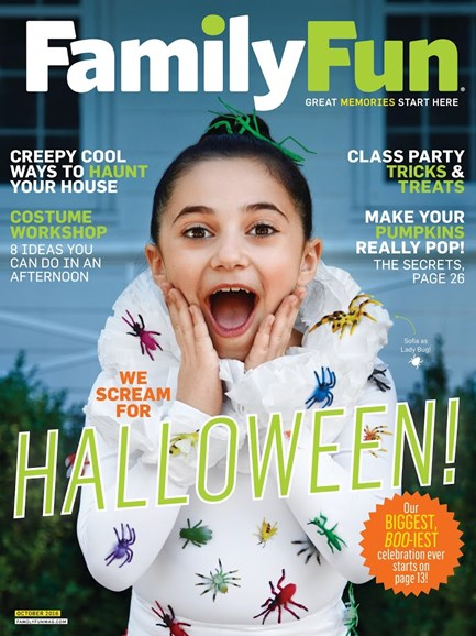 Family Fun Cover - 10/1/2016