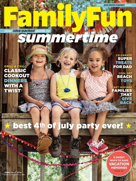 Family Fun Cover - 6/1/2014