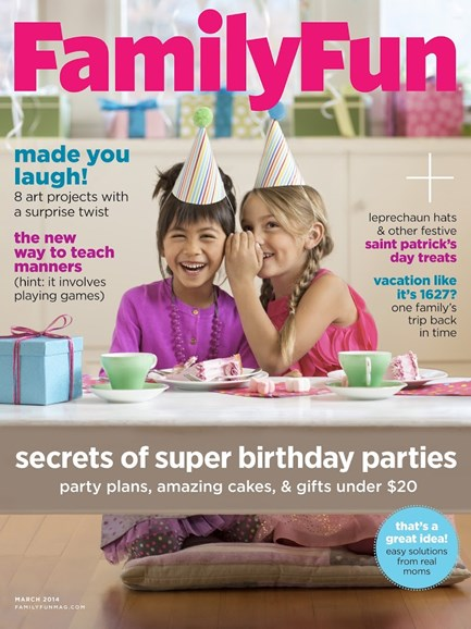 Family Fun Cover - 3/1/2014