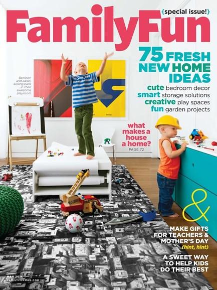 Family Fun Cover - 5/1/2014