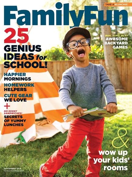 Family Fun Cover - 9/1/2014