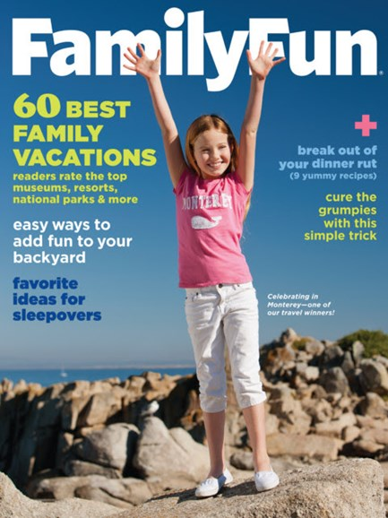 Family Fun Cover - 4/1/2013