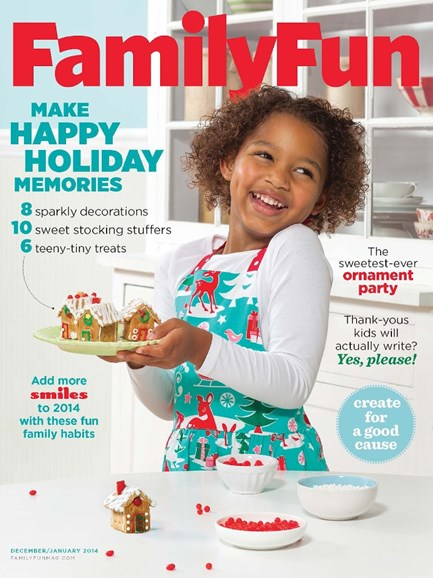 Family Fun Cover - 12/1/2013
