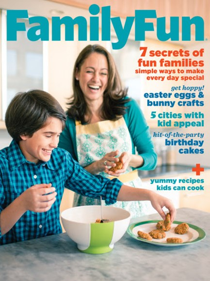 Family Fun Cover - 3/1/2013