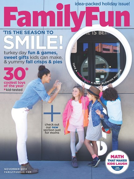 Family Fun Cover - 11/1/2013