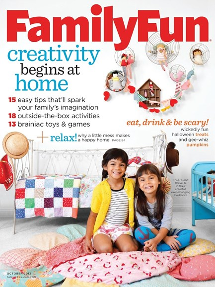 Family Fun Cover - 10/1/2013