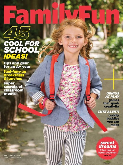 Family Fun Cover - 9/1/2013