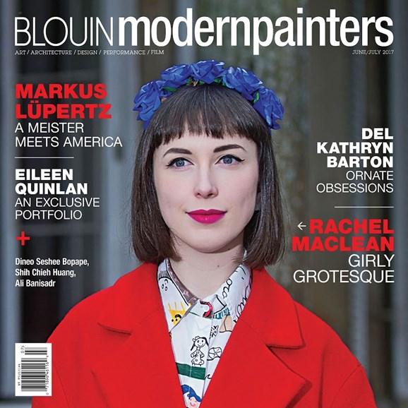 Blouin Modern Painters Cover - 6/1/2017