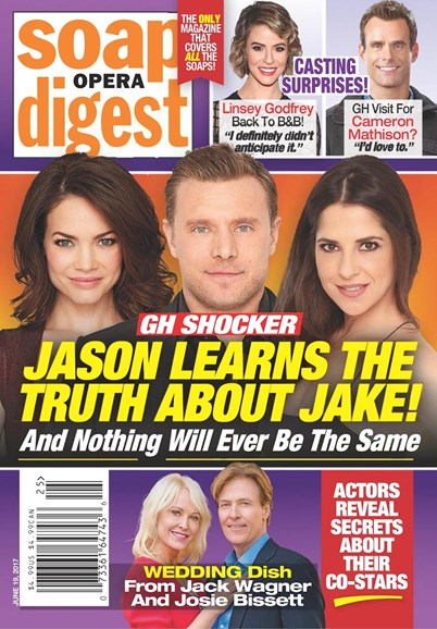 Soap Opera Digest Cover - 6/19/2017