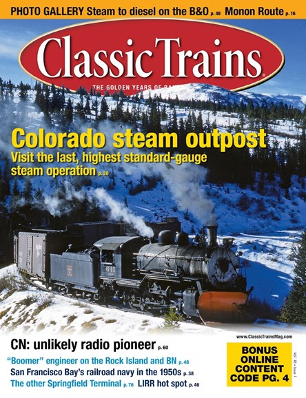 Classic Trains Cover - 3/1/2017