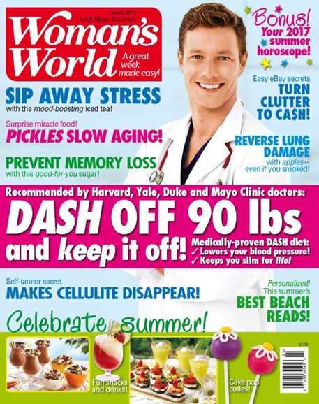 Woman's World Cover - 6/5/2017