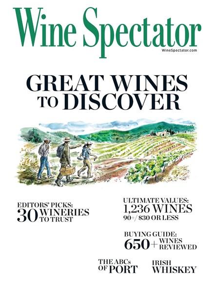 Wine Spectator Cover - 2/28/2017