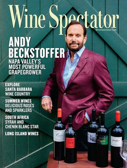 Wine Spectator Cover - 6/15/2017
