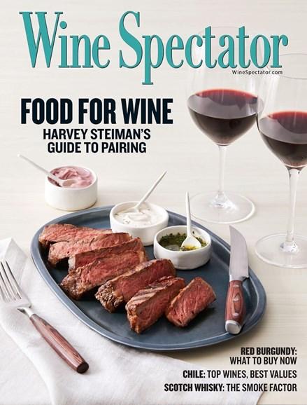 Wine Spectator Cover - 5/31/2017