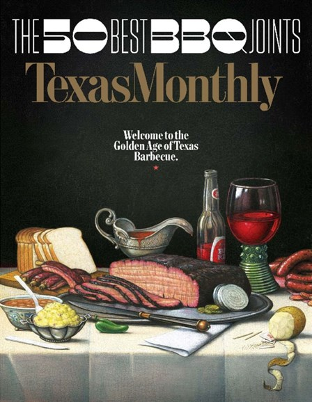 Texas Monthly Cover - 6/1/2017