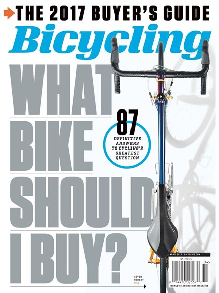 Bicycling Cover - 4/1/2017