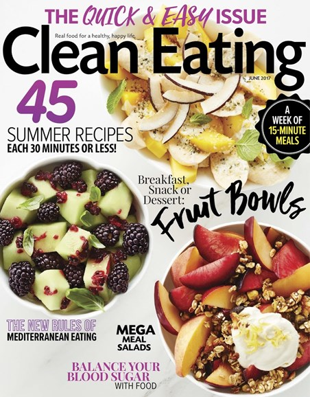 Clean Eating Cover - 6/1/2017