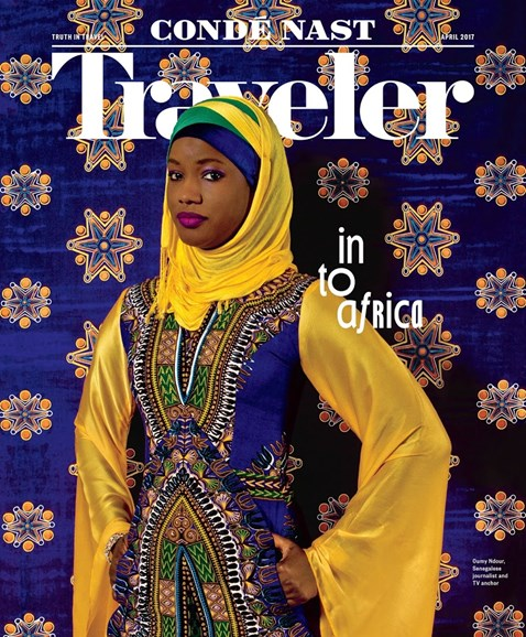 Condé Nast Traveler Cover - 4/1/2017
