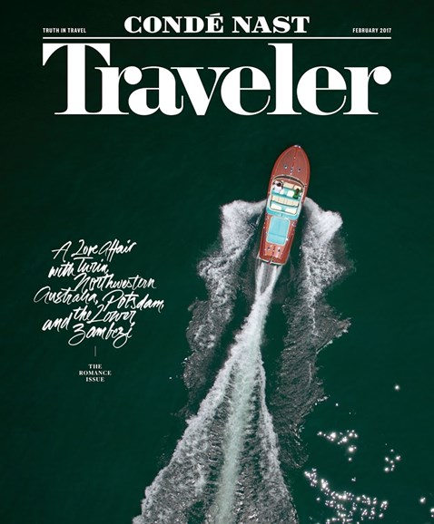 Condé Nast Traveler Cover - 2/1/2017