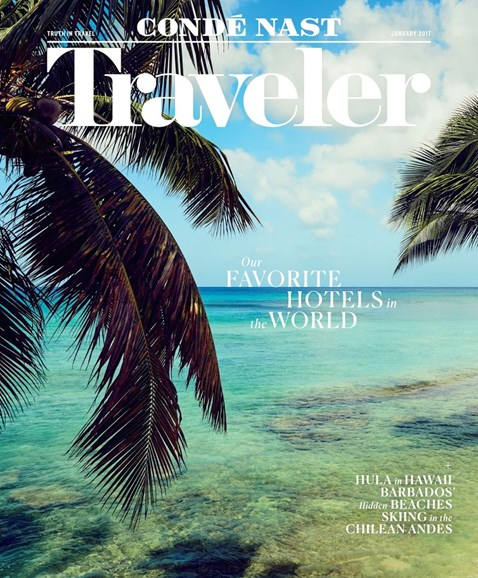 Condé Nast Traveler Cover - 1/1/2017