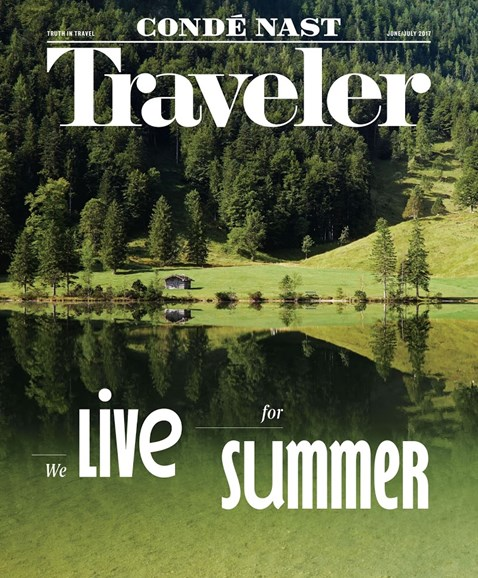 Condé Nast Traveler Cover - 6/1/2017