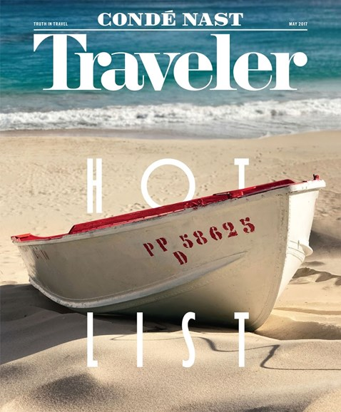 Condé Nast Traveler Cover - 5/1/2017
