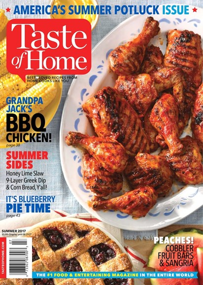 Taste of Home Cover - 6/1/2017
