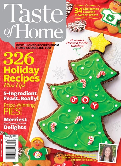 Taste of Home Cover - 12/1/2013