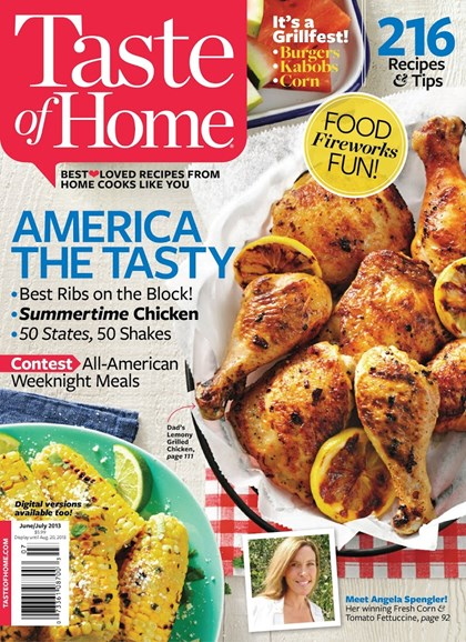 Taste of Home Cover - 6/1/2013