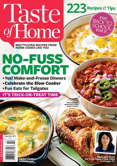 Taste of Home Cover - 9/1/2013