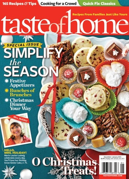 Taste of Home Cover - 12/1/2012