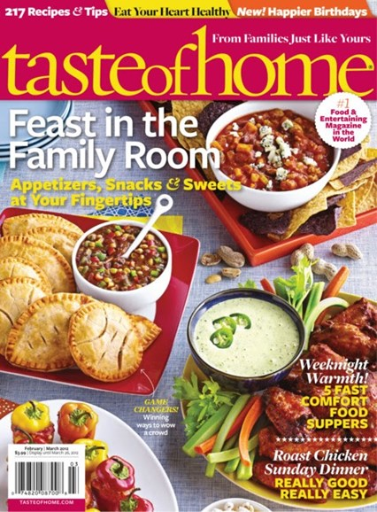 Taste of Home Cover - 2/1/2012