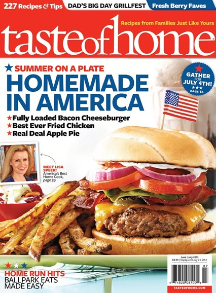 Taste of Home Cover - 6/1/2012