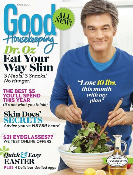 Good Housekeeping Cover - 4/1/2013