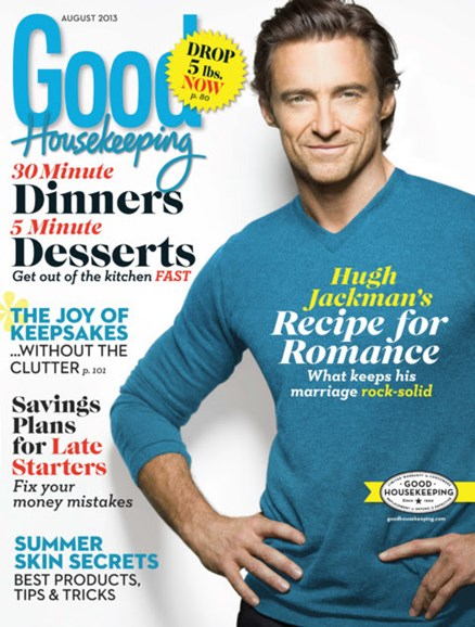Good Housekeeping Cover - 8/1/2013