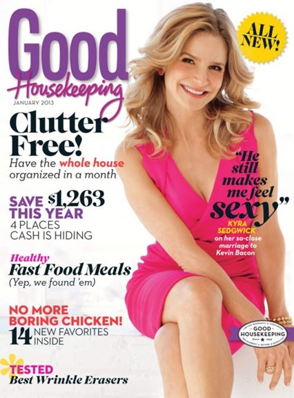 Good Housekeeping Cover - 1/1/2013