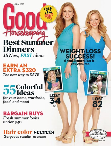 Good Housekeeping Cover - 7/1/2013