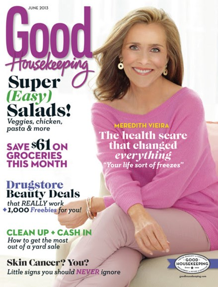Good Housekeeping Cover - 6/1/2013