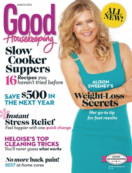 Good Housekeeping Cover - 3/1/2013