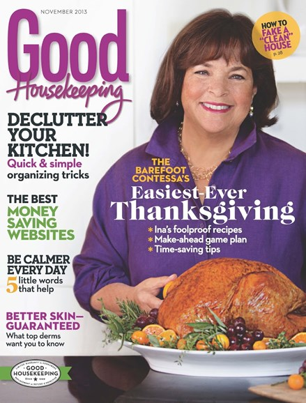 Good Housekeeping Cover - 11/1/2013