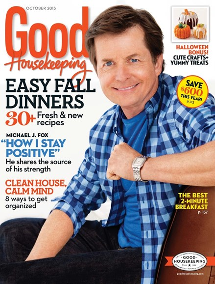 Good Housekeeping Cover - 10/1/2013