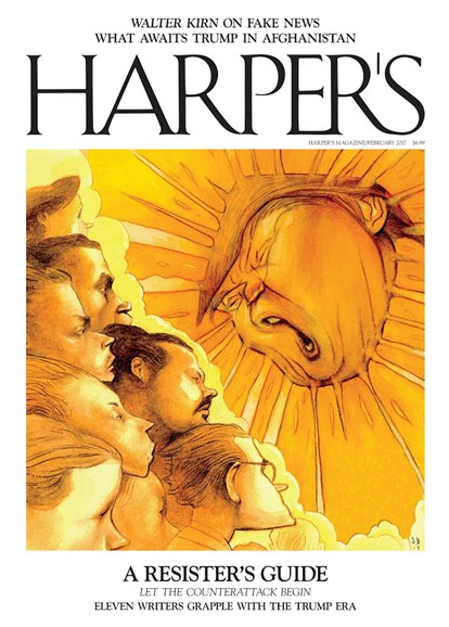 Harper's Cover - 2/1/2017