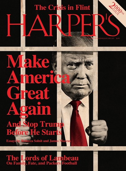 Harper's Cover - 1/1/2017