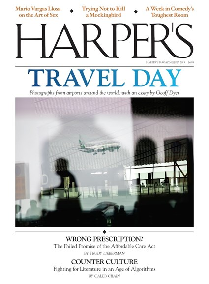 Harper's Cover - 7/1/2015