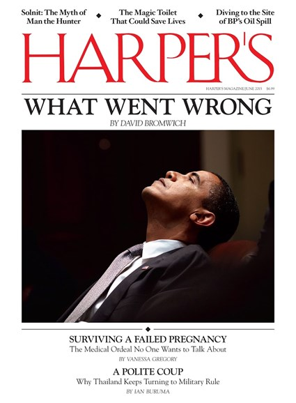 Harper's Cover - 6/1/2015