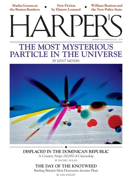 Harper's Cover - 5/1/2015