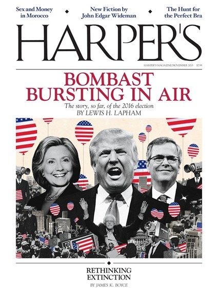 Harper's Cover - 11/1/2015